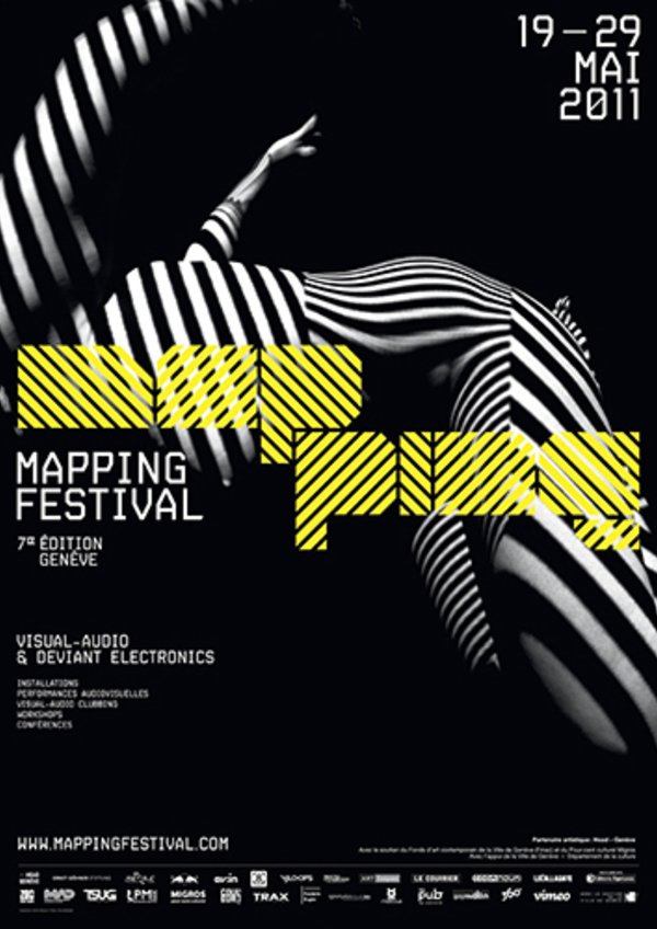 Affiche mapping 2011