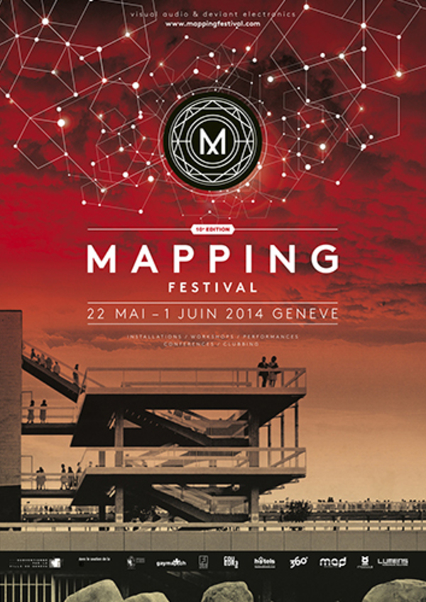 Affiche mapping 2014