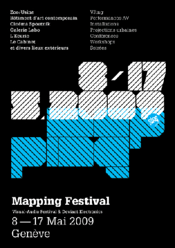 Affiche mapping 2009