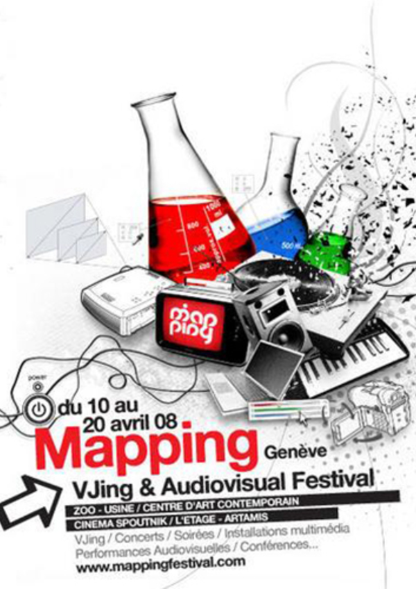 Affiche mapping 2008